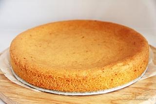 торт с апельсиновым кремом