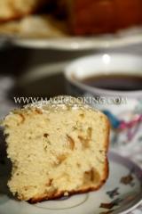Шарлотка в мультиварке Moulinex cook4me