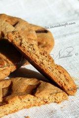 арахисовое печенье с ирисками