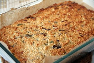 Breakfast bars oatmeal