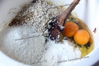 Breakfast bars oatmeal