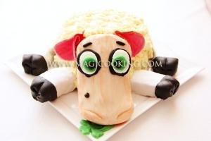 """Торт """"Овечка"""" для овна"""