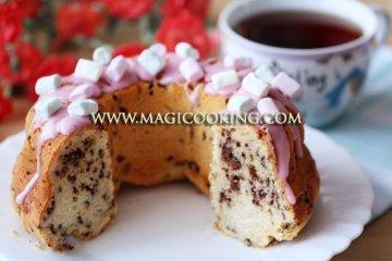 Кекс с рикоттой и шоколадом