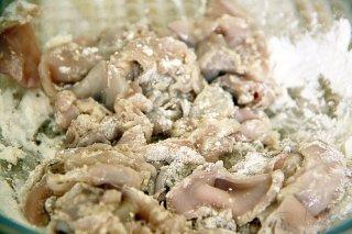 Жареные кальмары