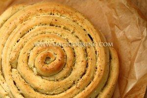 Сырно-чесночный хлеб