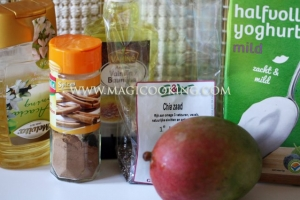Пудинг с семенами чиа и манго