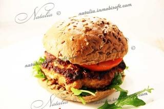 куриная котлета или гамбургер по-домашнему
