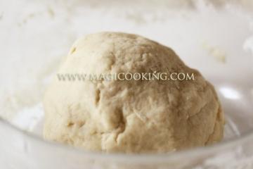 Заварное тесто для пельменей и мантов