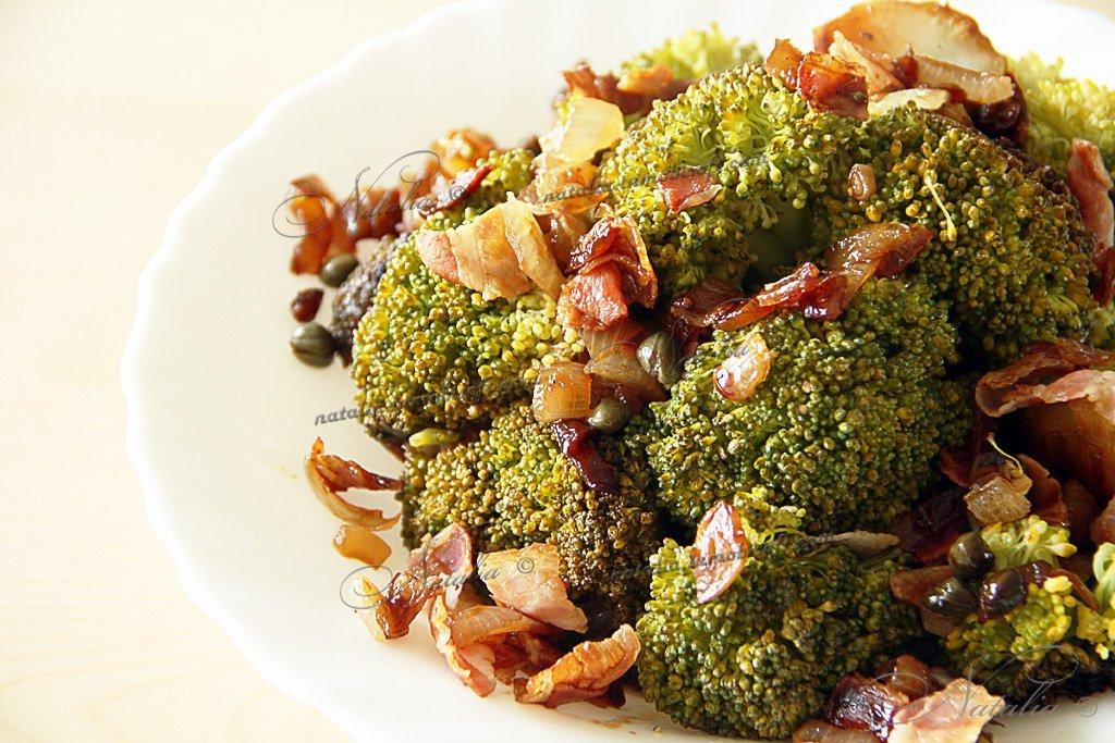 блюда из капусты брокколи замороженной