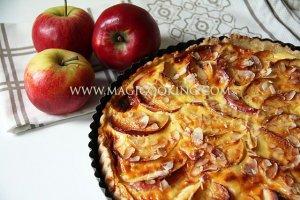 """Немецкий яблочный пирог """"Apfelkuchen"""""""