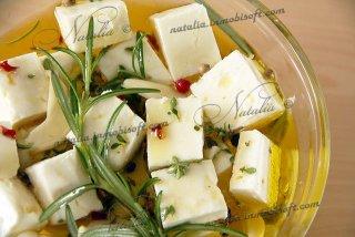 Сыр фета маринованный