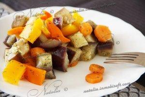 салат из баклажана и болгарского перца