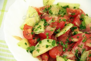 салат с тахином