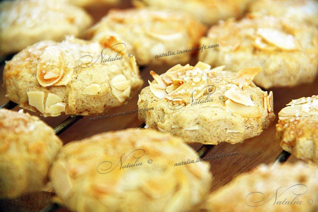 Печенье из миндальных лепестков рецепт