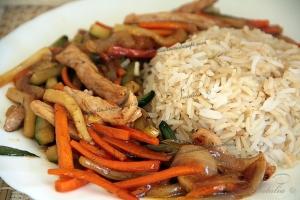 Стир-фрай или ужин в китайском стиле