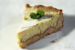тарт с кремом из лайма