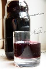 Вишневый сок из черноплодной рябины