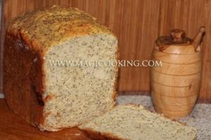 Творожный хлеб в хлебопечке