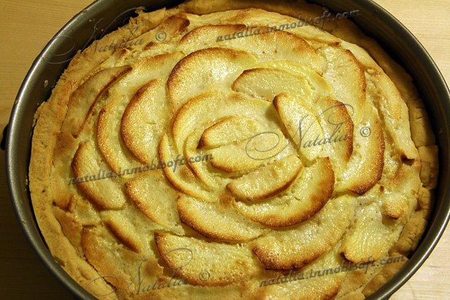 Яблочный пирог рецепт с фото готовим дома