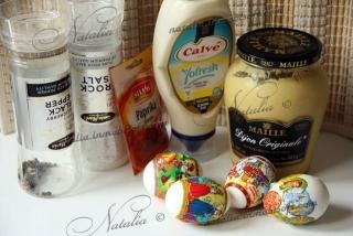 """Закуска """"Мимоза"""" или Les Oeufs Mimosa"""