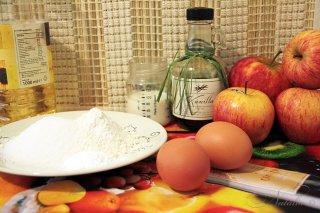 Яблочный пирог (Gateau aux Pommes)