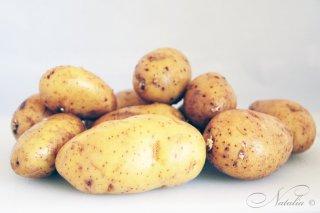 картофель с заправкой по-деревенски