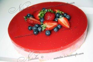 Kwarktaart - Творожный торт