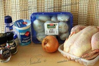 цыпленок по-охотничьи