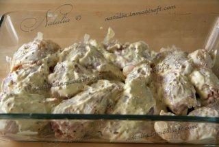 Курица в йогурте