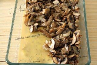 Лазанья грибная