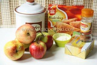 Яблочные мини пирожки