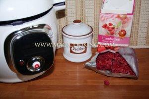 Малиновый морс в мультиварке Moulinex cook4me
