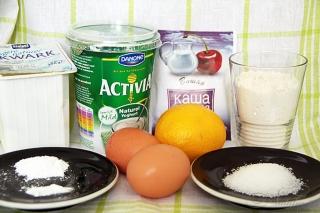 Оладьи с овсянкой и йогуртом