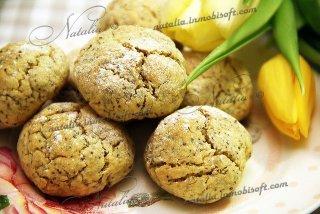 Печенье на желтках с маком