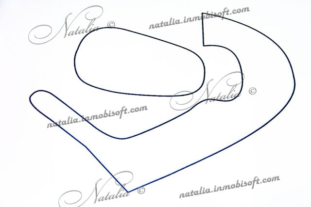 Схема пинетки мастика