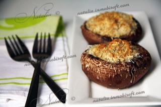 Грибы портобелло с орехами