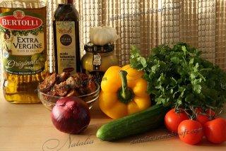 салат Panzanella