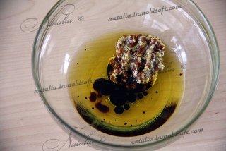 салат руккола и груша