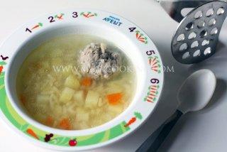 """Суп с фрикадельками """"Детский"""""""