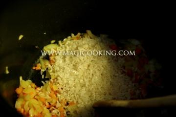 Фаршированный перец в мультиварке Moulinex cook4me
