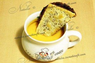 тыквенно-сырный крем суп