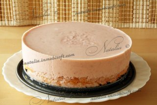 торт малиновый