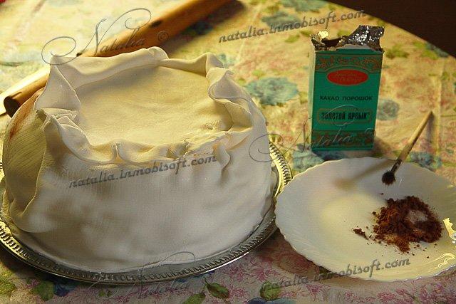 Как из мастики сделать мешок