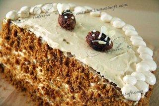 торт пчелка (медовик наливной)