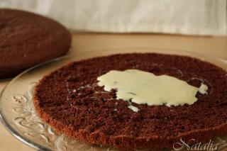 Торт шоколадно-кокосово-миндальный. Шаг 9