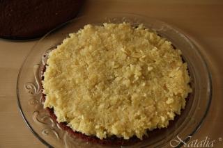 Торт шоколадно-кокосово-миндальный. Шаг 10