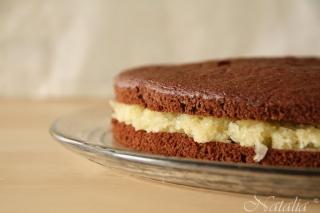 Торт шоколадно-кокосово-миндальный. Шаг 11