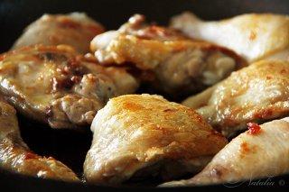 курица в перцах