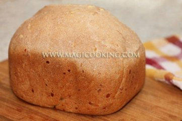 Цельнозерновой хлеб с сыром